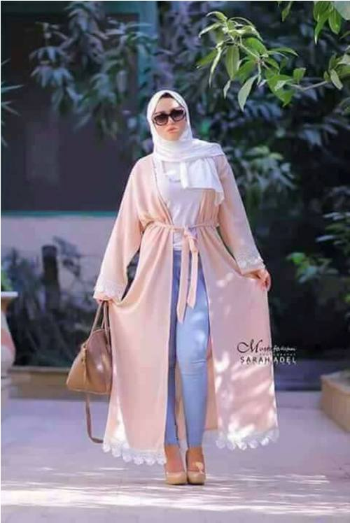 how to style your abaya cardigan for ramadan � just trendy