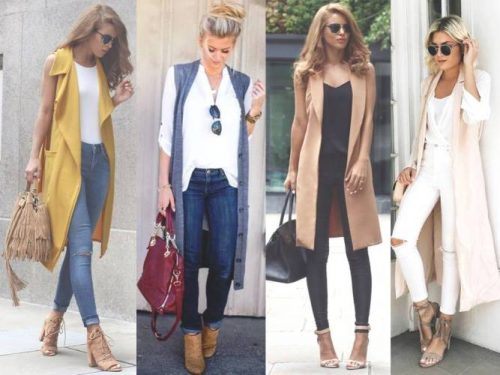 How to wear long vests | | Just Trendy Girls