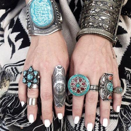 Boho Indigo Blue jewelry