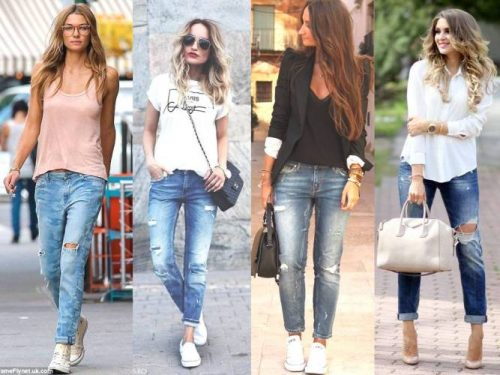 Boyfriend jeans ideas