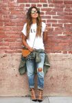 How to rock the boyfriend jeans