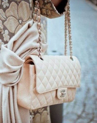 chanel baby pink bag