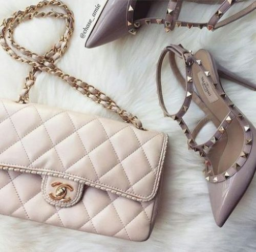 creamy nude chanel bag