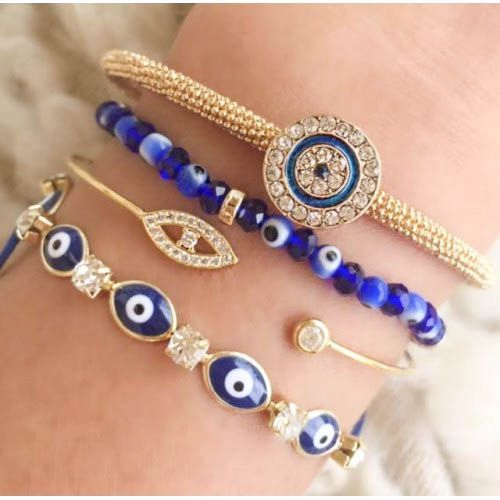 Evil Eye Jewelry Bracelets Just Trendy Girls