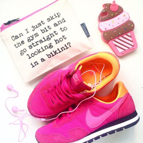 girly pink nike shoes