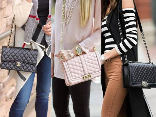 how to wear chanel bag