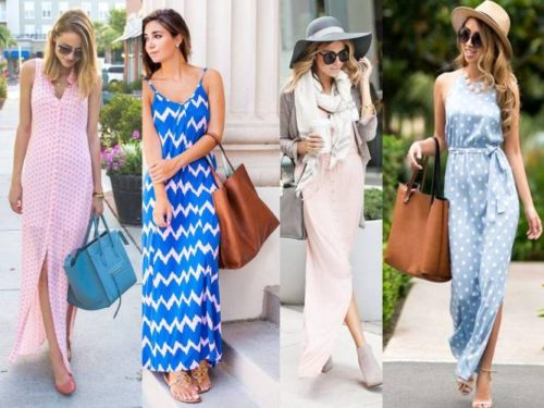 morning casual maxi dresses
