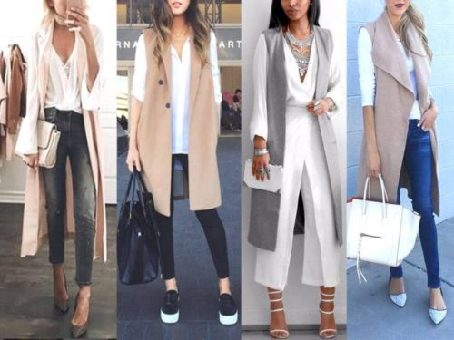 neutral vest street looks