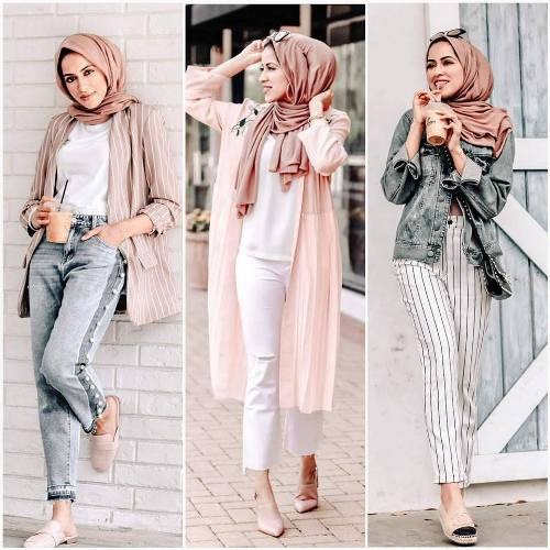 the suitable wear that converse to your inner taste, or the wear that  satisfy your style. Enjoy the hijab fashion collection and pick your look  today.
