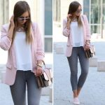 How to rock the blush pink