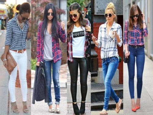 plaid shirts styling ideas