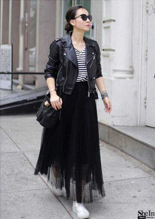 Ways To Wear The Midi Tulle Skirts Just Trendy Girls