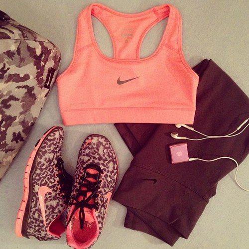 workout cool outfit