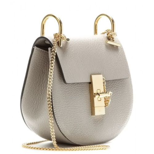 Chloe Drew Bag in Grey