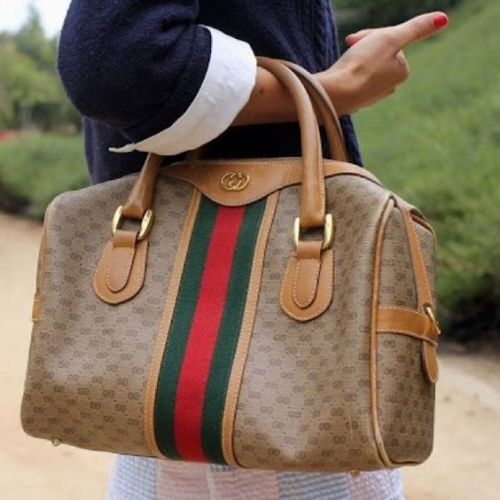 Gucci Boston bag in monogram canvas