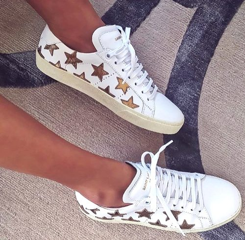 adidas with golden stars