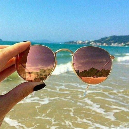 beach mirror sunnies