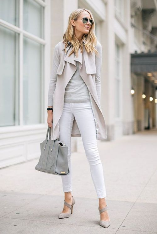 classy work outfit idea