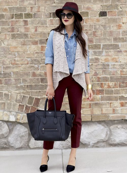 fall cute outfit idea
