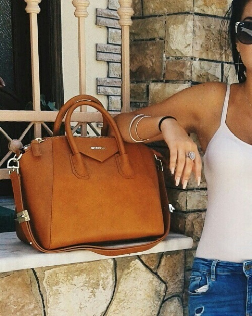 givenchy tan purse,