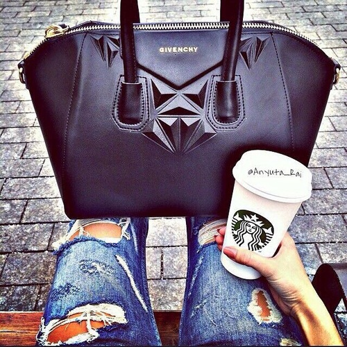 givenchy with starbucks