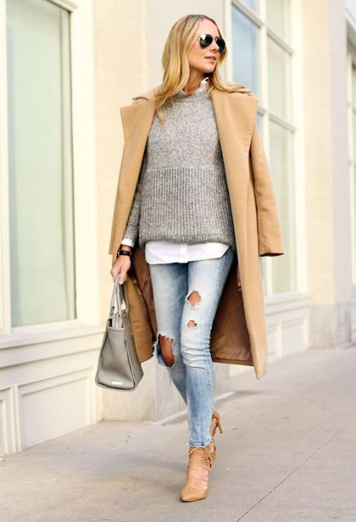 long coat fall outfit