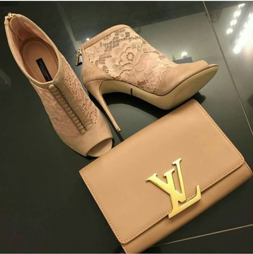 louis vuitton nude bootie