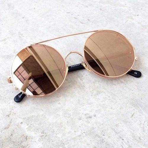 nude mirror sunglasses