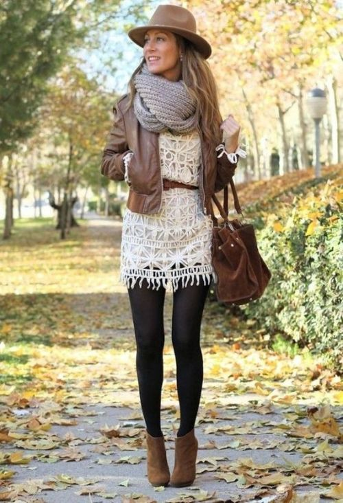 stylish fall outfit idea