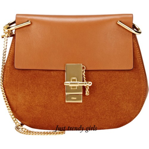 tan chloe shoulder bag
