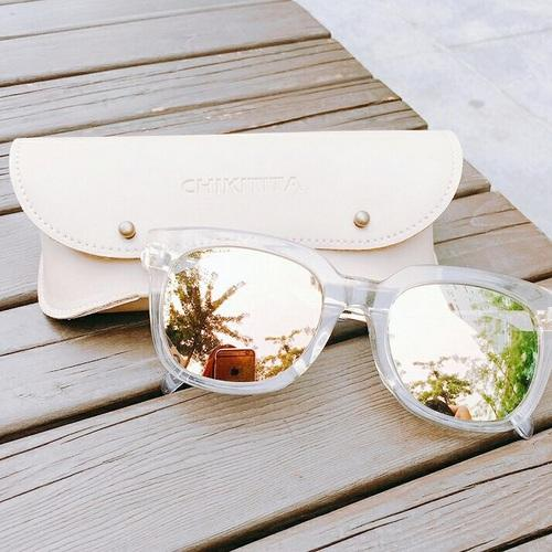 white pastel sunnies