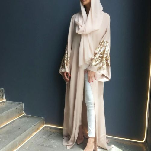 beige-abaya-with-golden-details