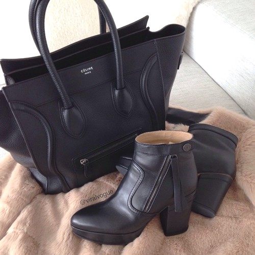 black-ankle-boot-with-celine-bag