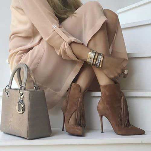 brown-fringe-bootie-outfit-idea