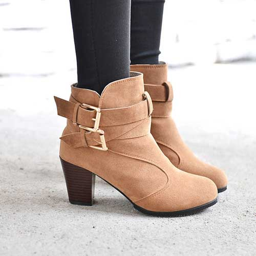 camel-ankle-booties