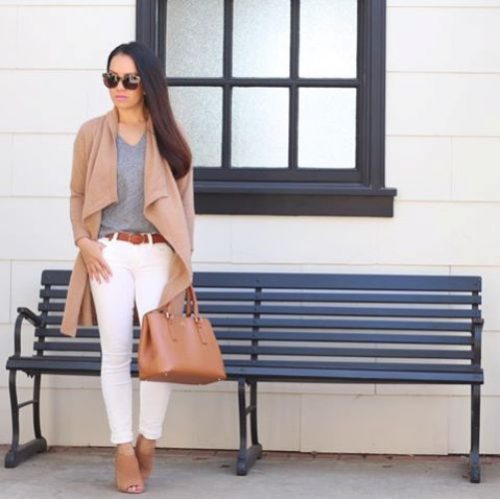 camel-cardigan-white-pants-outfit