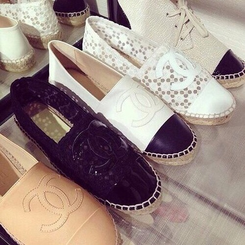 chanel-canvas-slip-on