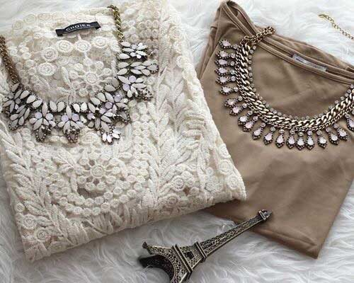 crochet-sweater-with-statement-necklace