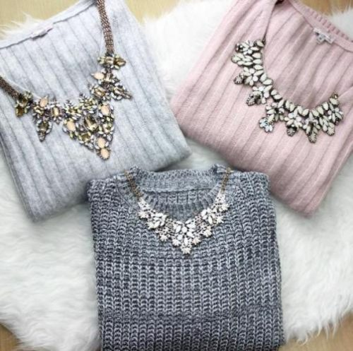 cute-knit-sweaters-with-necklaces