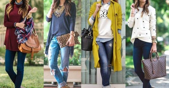 Voguish fall street styles