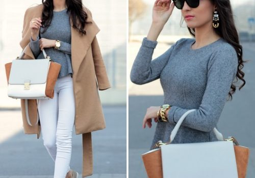 Neutral street style outfits