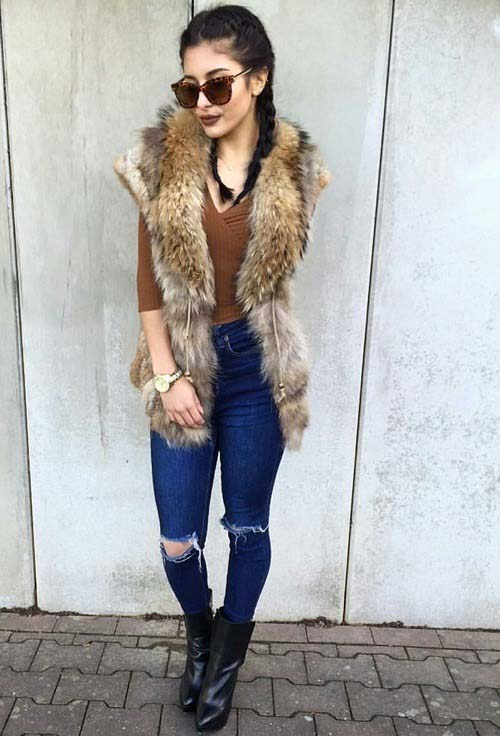 fur-vest-brown-tee-ankle-boot