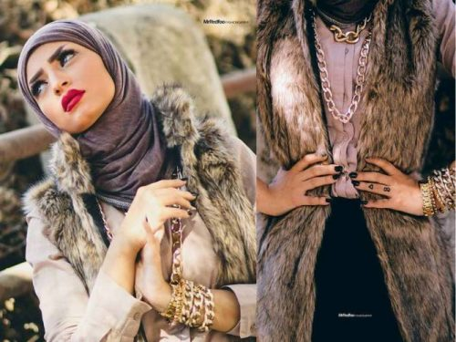 fur-vest-with-hijab