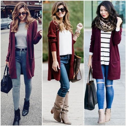 e216d94f80 ... women can wear the amazing fall colors and how she can be fashionable  and chic with just some simple tricks. Enjoy the styling ideas and have a  warm and ...