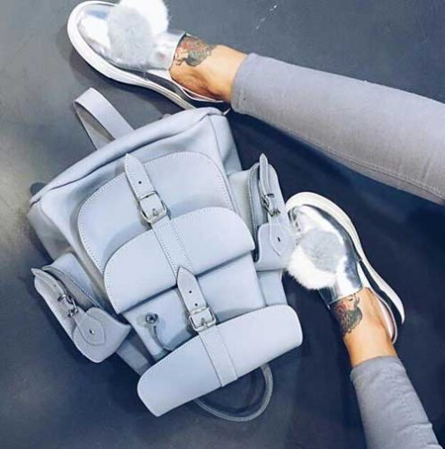 mitallic-slip-on-shoes-with-backpack