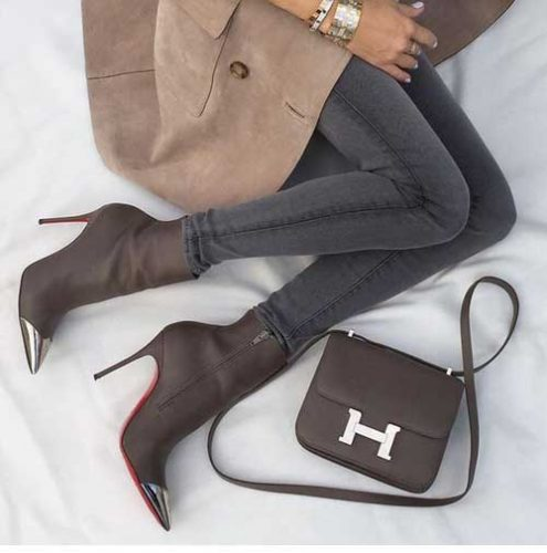mocha-high-heel-ankle-boots