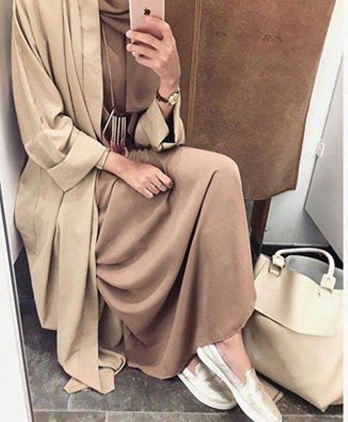 neutral-brown-abaya-fashion