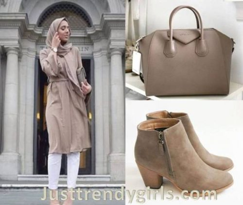 neutral-hijab-outfit-with-bags-and-shoes