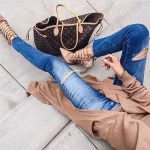 Classy pumps with matched bags
