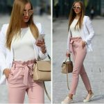 Outfit ideas in blush pink